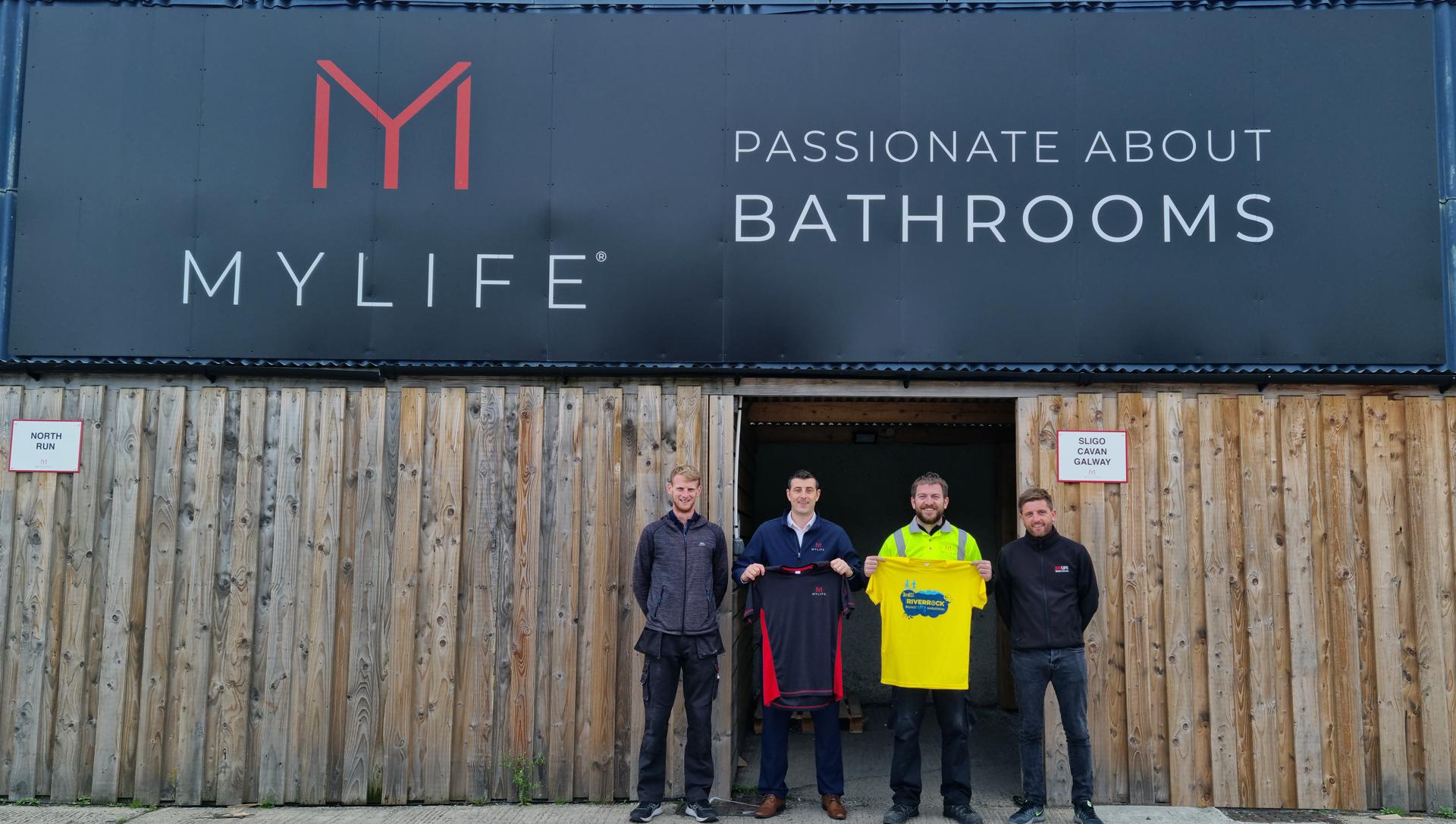 Team MyLife Enter Belfast Marathon