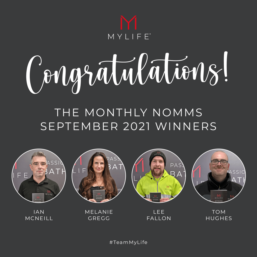 MyLife September Monthly Nomms Winners
